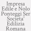 Impresa Edile e Nolo Ponteggi Ser Societa' Edilizia Romana