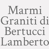 Marmi Graniti Di Bertucci Lamberto