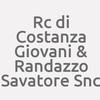 Rc di Costanza Giovanni & Randazzo Salvatore Snc