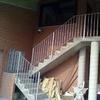 Scala esterna in ferro
