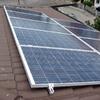 Preventivo per installare pannelli solari su una piccola casa mobile