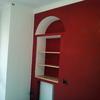 Levigare parete rossa 15mq