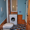 Rifare il pavimeto del bagno, delle camere da letto e salotto