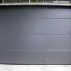 Foto: porta sezionale tinta antracite