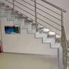 Realizzazione ringhiera in acciaio inox per interni