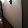 Demolizione muro divisiorio e ripristino carico acqua lavatrice