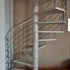 Fornitura e installazione gradini in vetro scala a chiocciola