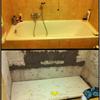 Installare miscelatore vasca con doccia