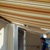 Copertura per terrazzo con struttura in alluminio