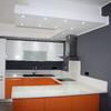 Cambio piano lavoro cucina lineare 3 metri in bianco laminato