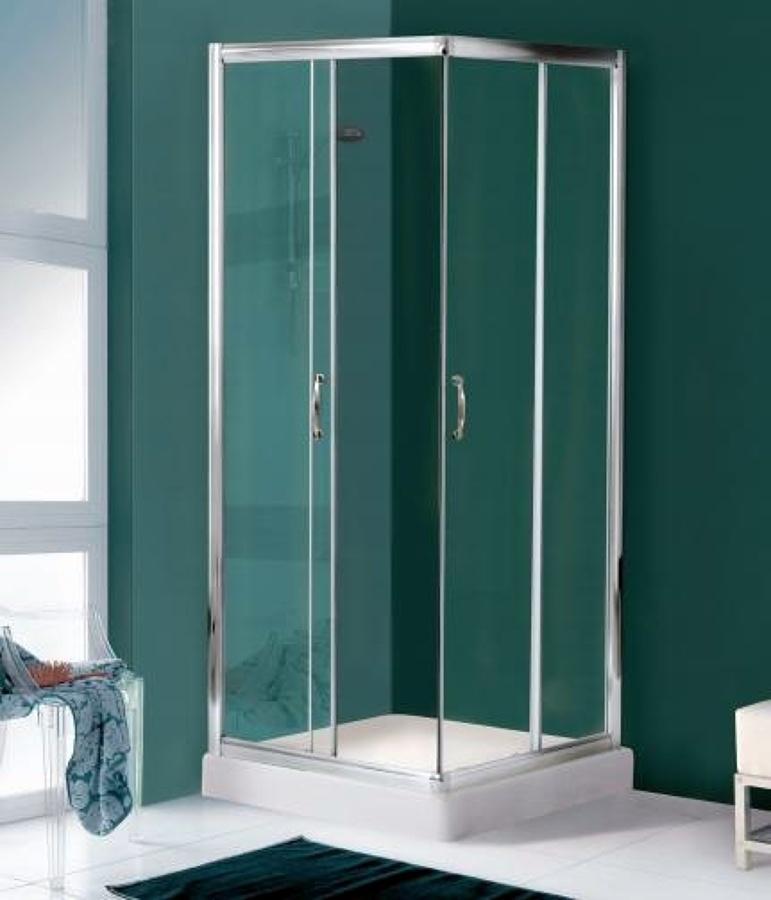 Offerta box doccia scorrevole cristallo 6mm e allum 159 90 for Offerte box doccia