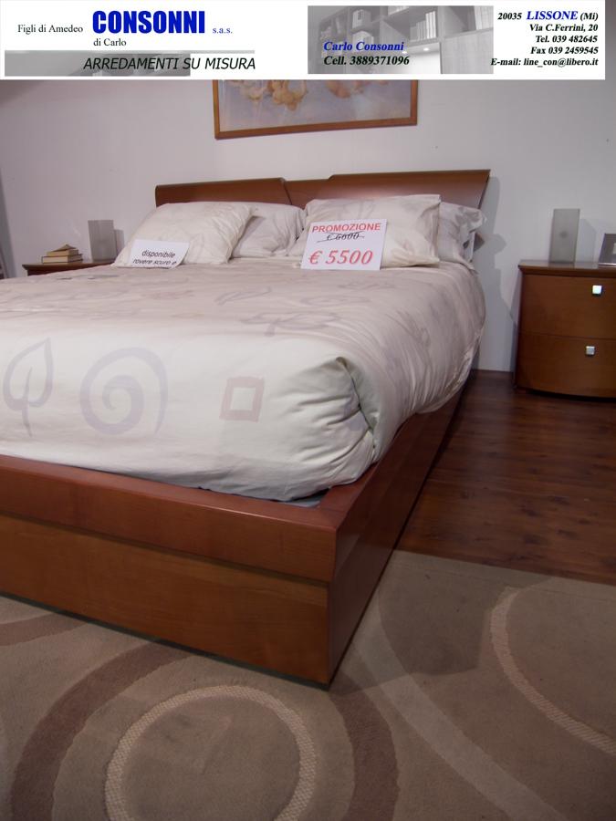 Camera completa matrimoniale in ciliegio €3900 (listino € ...