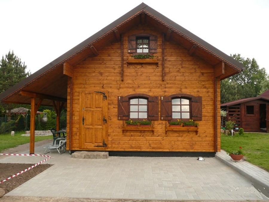 offerta occasione euro casa di legno 50 mq