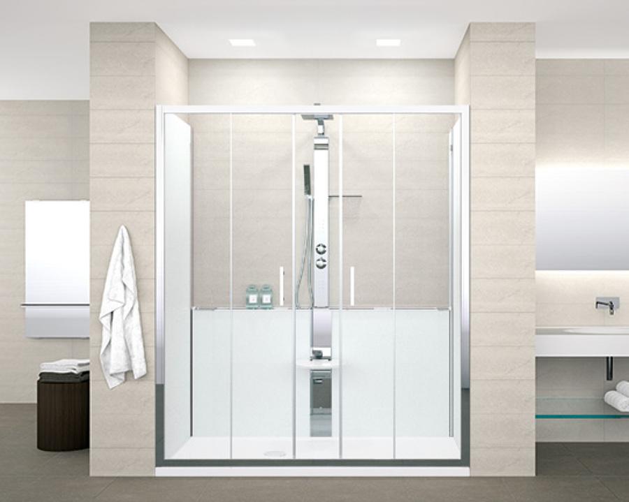 Awesome excellent vasca da bagno con doccia incorporata - Ricoprire vasca da bagno prezzi ...