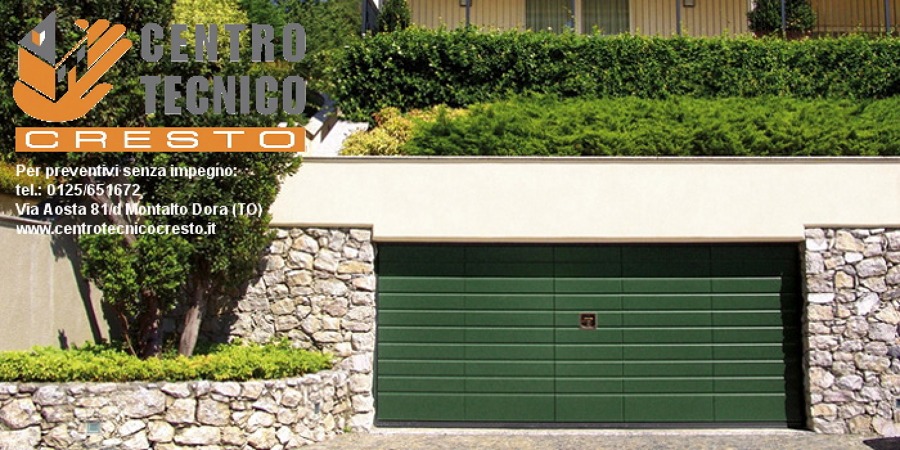 Porte basculanti per garage silvelox – ivrea  Offerte Infissi Legno e Falegnameria