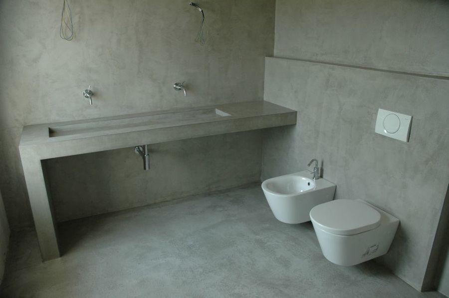 pavimento idee Microcemento : Bagno In Microcemento: Pavimento in microcemento bagno belle dimore ...