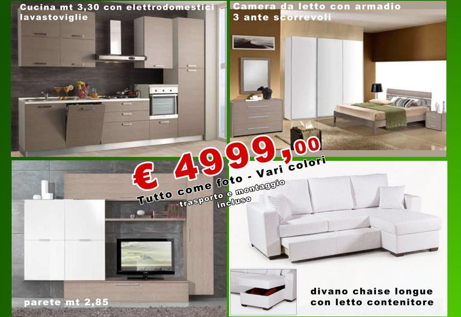 Offerta speciale sposi arredamento completo offerte mobili for Arredamento offerte