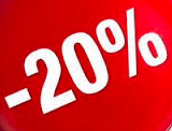 20% sconto su tende da interno