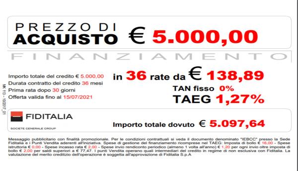 I tuoi infissi a meno di € 140.00 mese