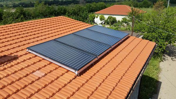 Impianto solare termico da 1000 litri