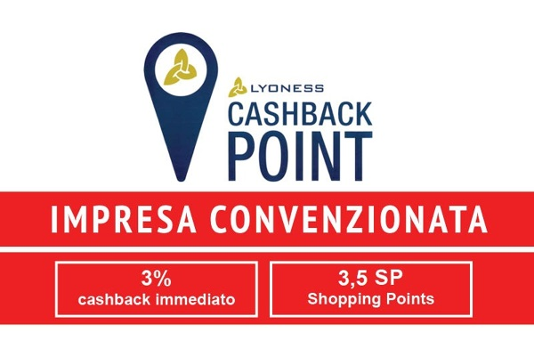 Impresa convenzionata Lyoness - Cashback  point