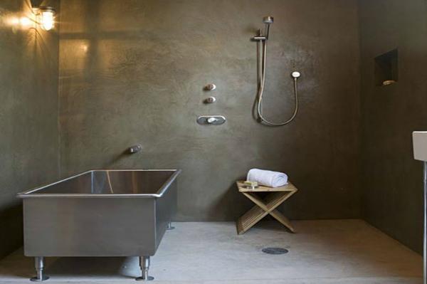 pavimento idee Microcemento : Bagno In Microcemento : Bagno In Microcemento : Posa pavimento e ...