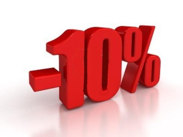 Promozione -10%