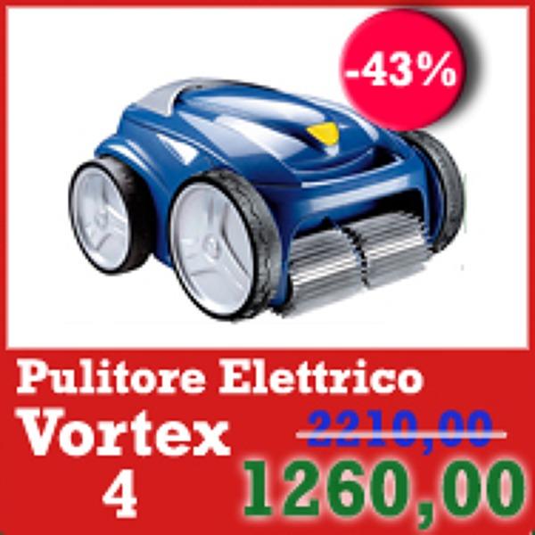 Pulitore Elettrico Automatico per Piscine Vortex4