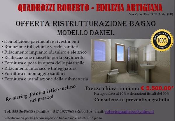 Quadrozzi roberto edilizia artigiana alatri - Ristrutturazione edilizia bagno ...