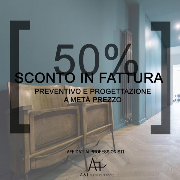 SCONTO IN FATTURA 50%