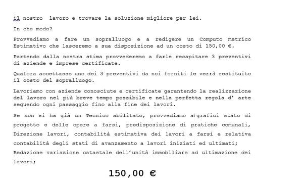 Ing maurizio villanacci benevento - Computo metrico ristrutturazione casa ...