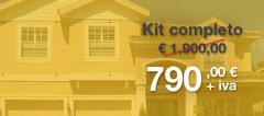 Offerta Kit allarme 790 € + Iva