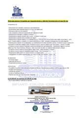 Offerta per Ristrutturazione Appartamento