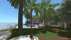 progetto piscina con giardino