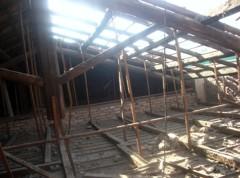 restruturazione tetto (prima porta roma)