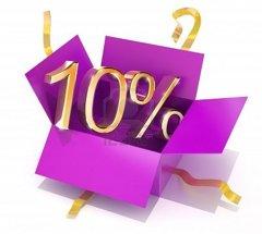 SCONTO DEL 10% OGNI NUOVO CLIENTE!!!