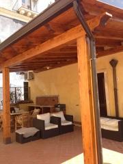 veranda in legno almellare