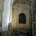 Altare di Santa Caterina in  chiesa di Santa Maria del SS. Rosario in Castellammare di Stabia (NA) prima del restauro