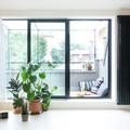 Ampia finestra sul terrazzo