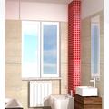 Appartamento a Novara in via Perazzi bagno