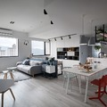 Appartamento moderno con parquet