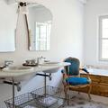 arredamento bagno casa in campagna