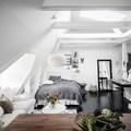 attico stile nordico