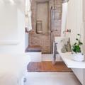 bagno rustico chic