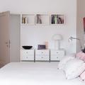 Camera da letto con arredi su misura