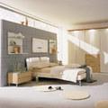 camera da letto isolata