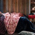 camera da letto stile rustico