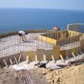 Cantiere piscina in fase di realizzazione