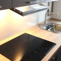 cappa integrata nel mobile della cucina