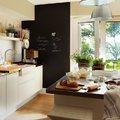 cucina con lavagna